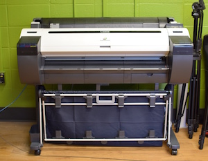 Large scale printer